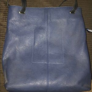 Urban Outfitters BDG blue vegan leather tote